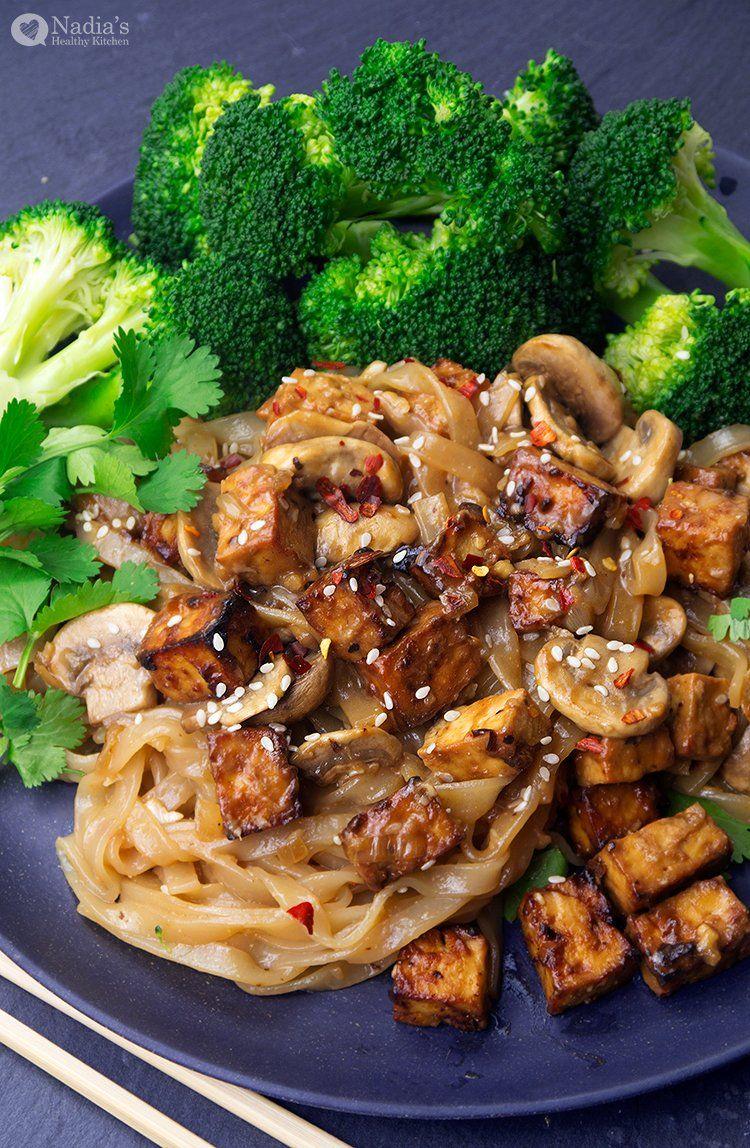 Miso Tofu Noodles Recipe in 2020 Tofu noodles, Tofu