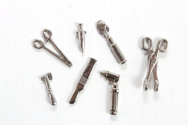 Miniature Medical Tools Dollhouse Medical Tools Miniature | Etsy #miniaturemedical