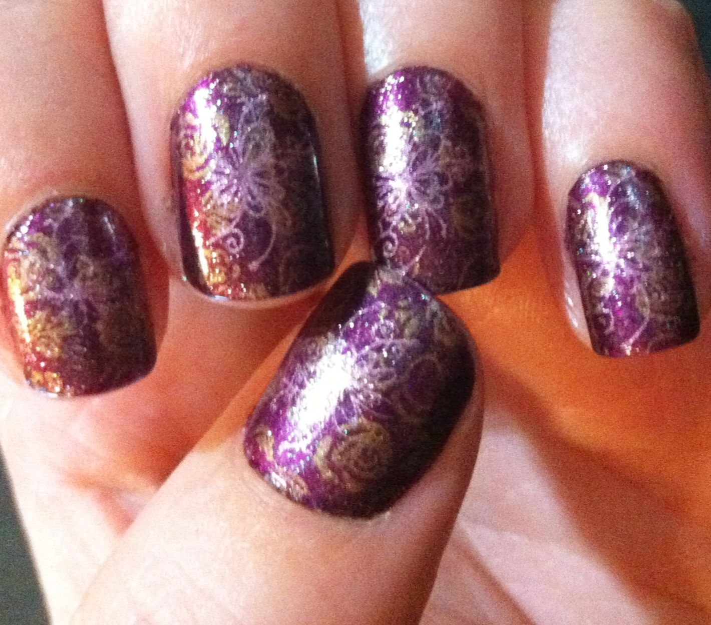 cool one color acrylic nail designs : Acrylic Nail Designs - Cool One Color Acrylic Nail Designs : Acrylic Nail Designs