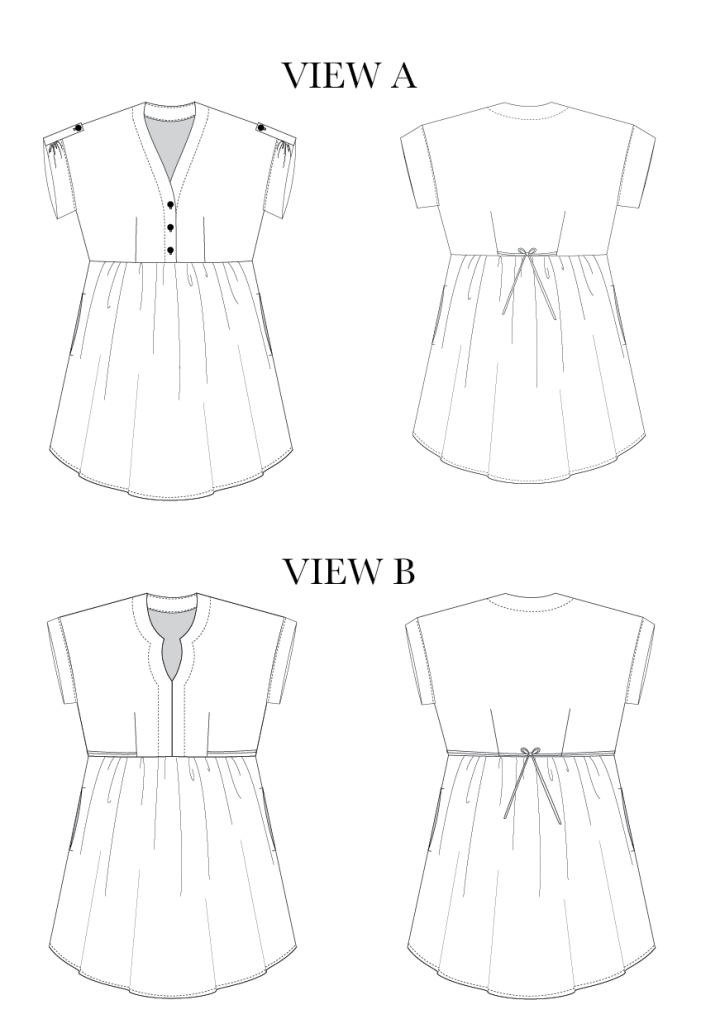 Women\'s Fringe Blouse & Dress - Chalk & Notch | DIY: Astuces couture ...