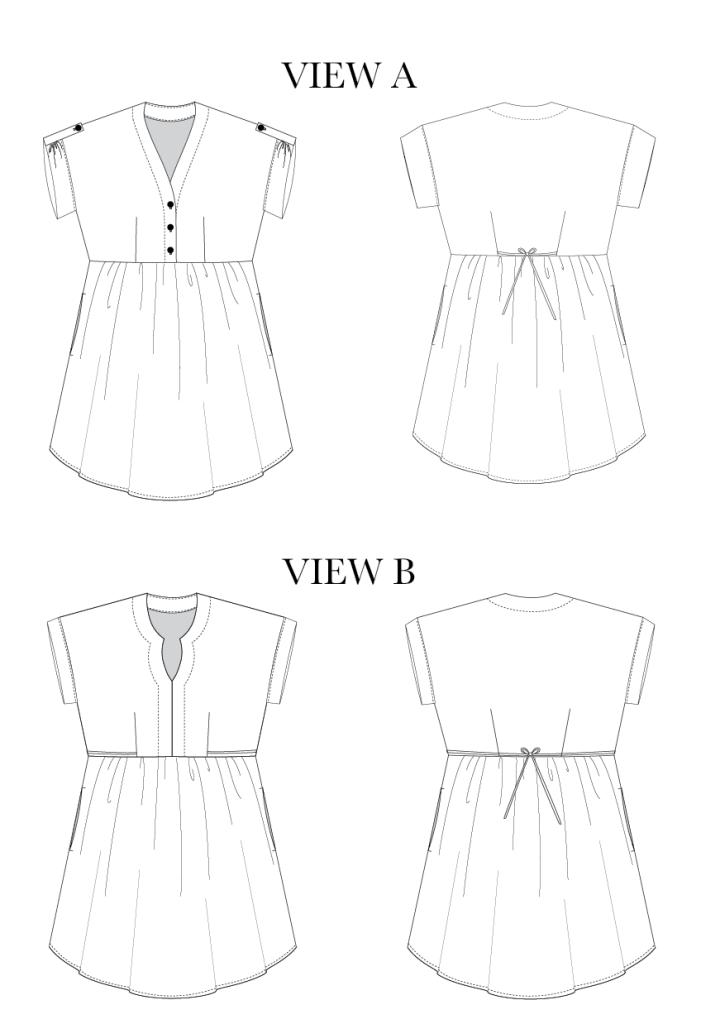 Women\'s Fringe Blouse & Dress - Chalk & Notch | DIY: Astuces couture ...