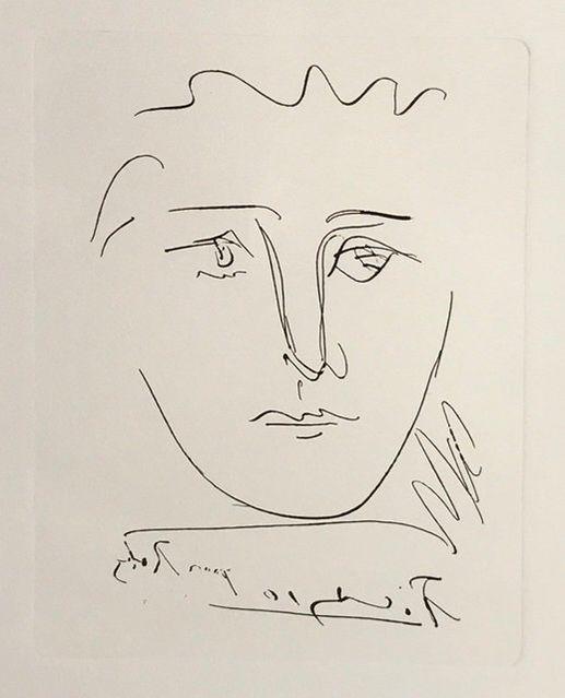 Pablo Picasso   L\'Age de soleil - Pour Roby   Available for Sale ...