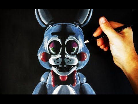 Como Dibujar A Toy Bonnie De Fnaf Five Nights At Freddy S Especial Halloween Artemaster Youtube Fnaf Como Dibujar Five Nights At Freddy S