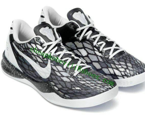 competitive price fc62e 655e8 Nike Zoom Kobe 8(VIII) System Stadium Grey Pure Platinum Metallic Silver