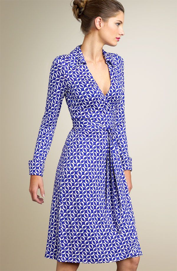 The Wrap Dress is always a beautiful option for the hourglass shape - flowy fabric is forgiving over the hips and the cinched waist flatters and compliments a smaller waist.
