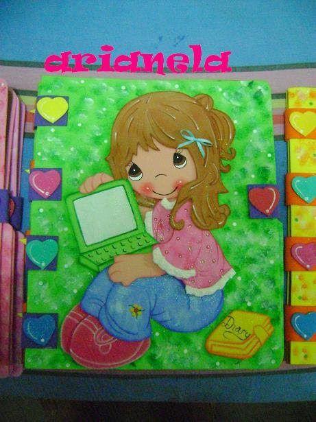 Imagenes de carpetas decoradas para preescolar imagui for Aplicaciones decoradas
