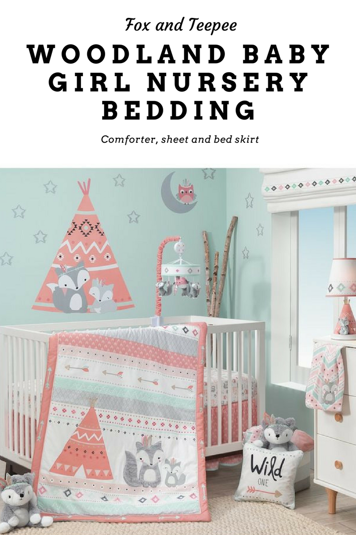 This Would Be So Cute For A Baby Girl S Room Woodland Animal