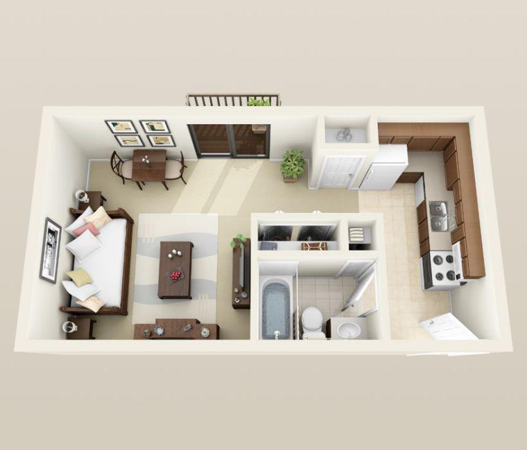 plan de appartement