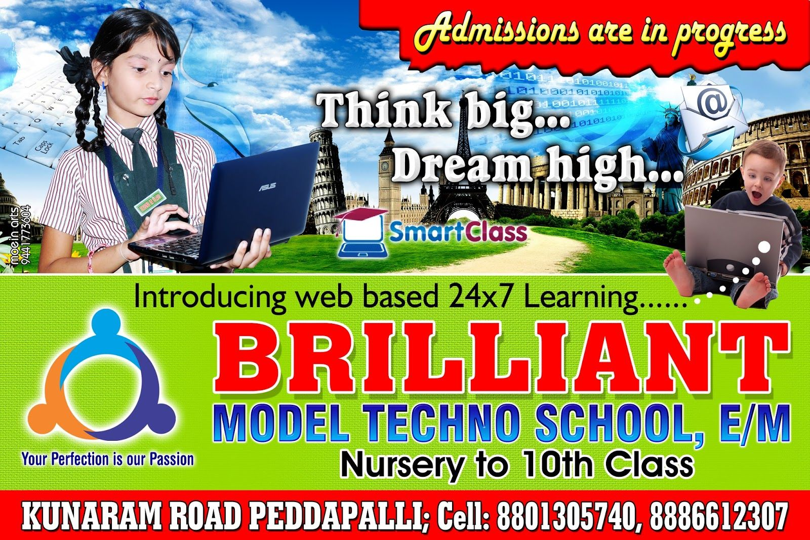 Flex Design For School Benjo