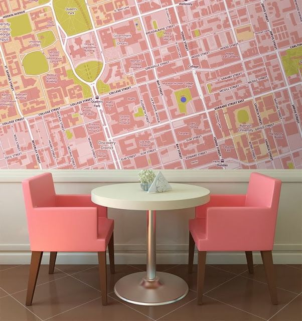 These fantastic wallpaper maps from wallpapered are a stylish way to these fantastic wallpaper maps from wallpapered are a stylish way to be anywhere in the world gumiabroncs Image collections