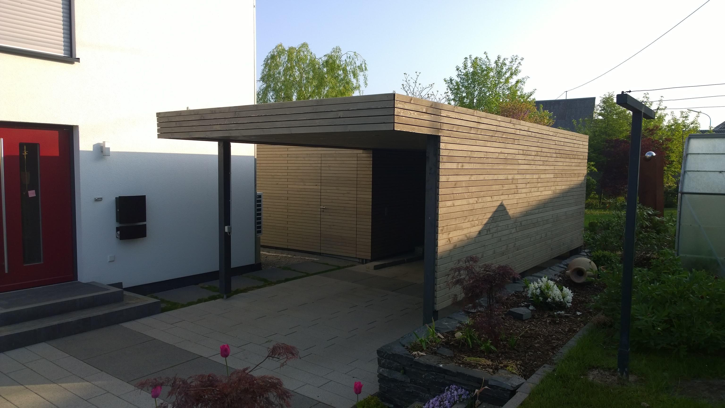 Schön Moderner Sichtschutz Im Garten Design