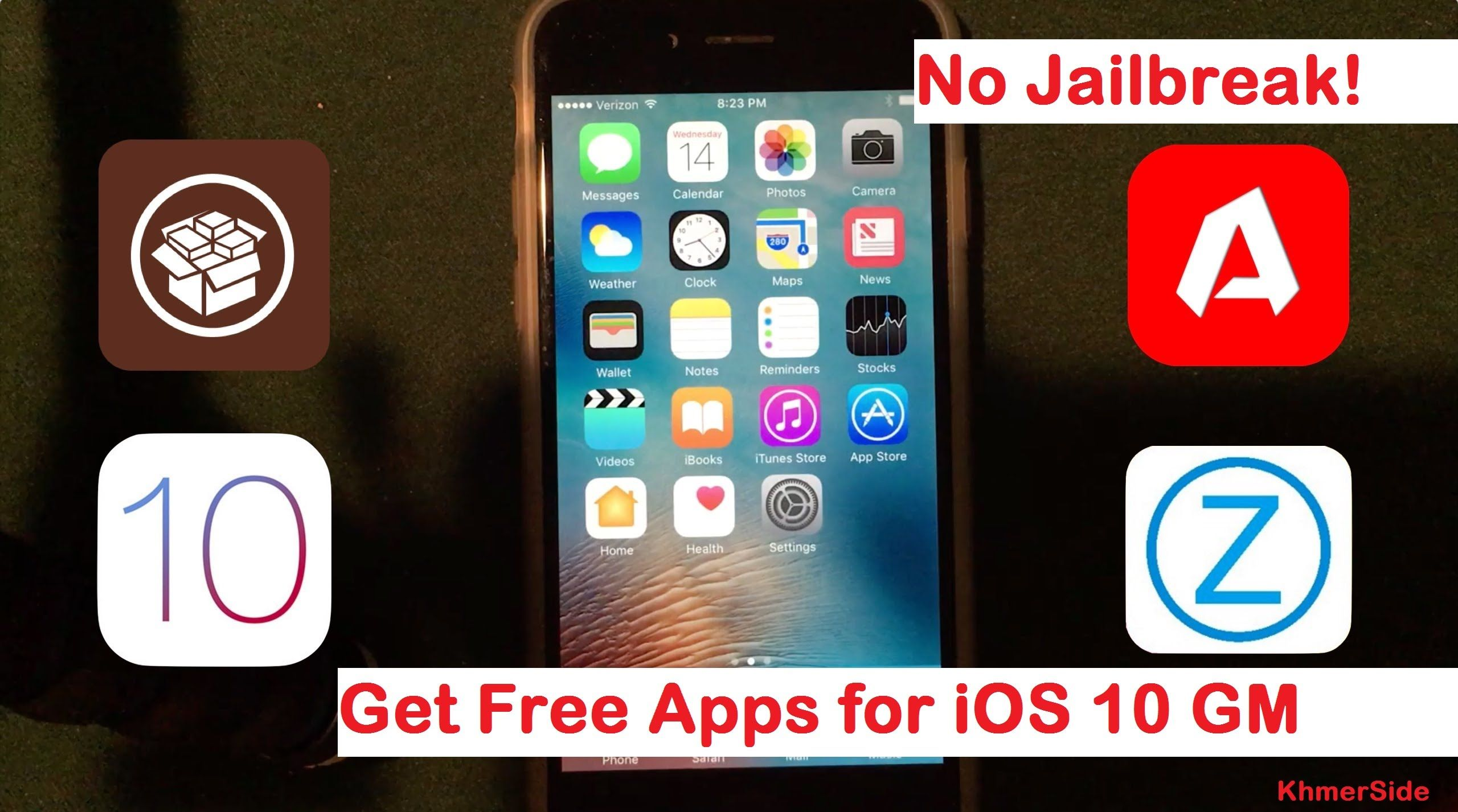 install jailbreak apps on iOS 10 without jailbreaking