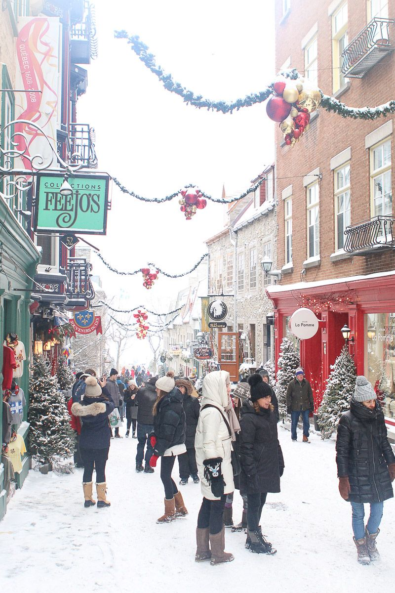Quebec City Travel Guide Visiting In Winter City Travel Quebec City Quebec City Christmas