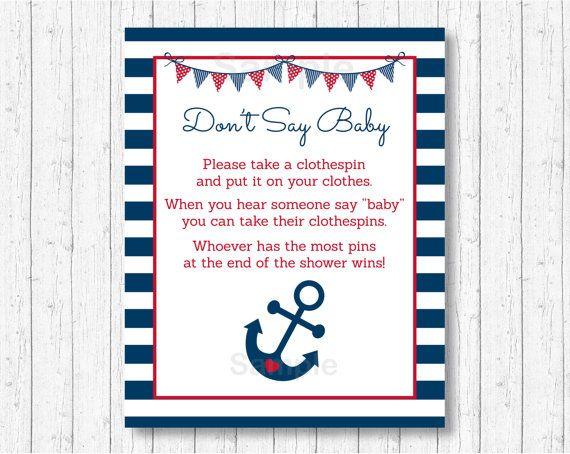 Imagenes De Nautical Baby Shower Games Ideas