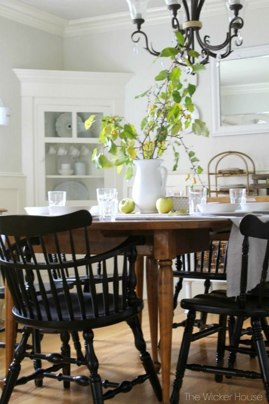 Eclectic Home Tour The Wicker House Farm House Living Room
