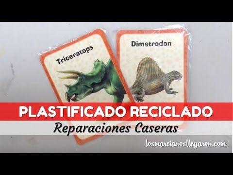 Plastificado Casero con material reciclado - YouTube