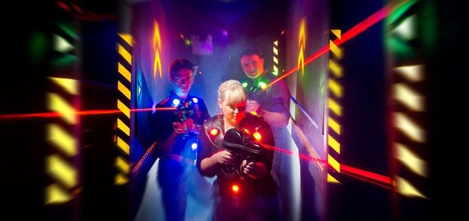 15 For 30 Worth Of Fun At Planet Maze Laser Tag And Mini