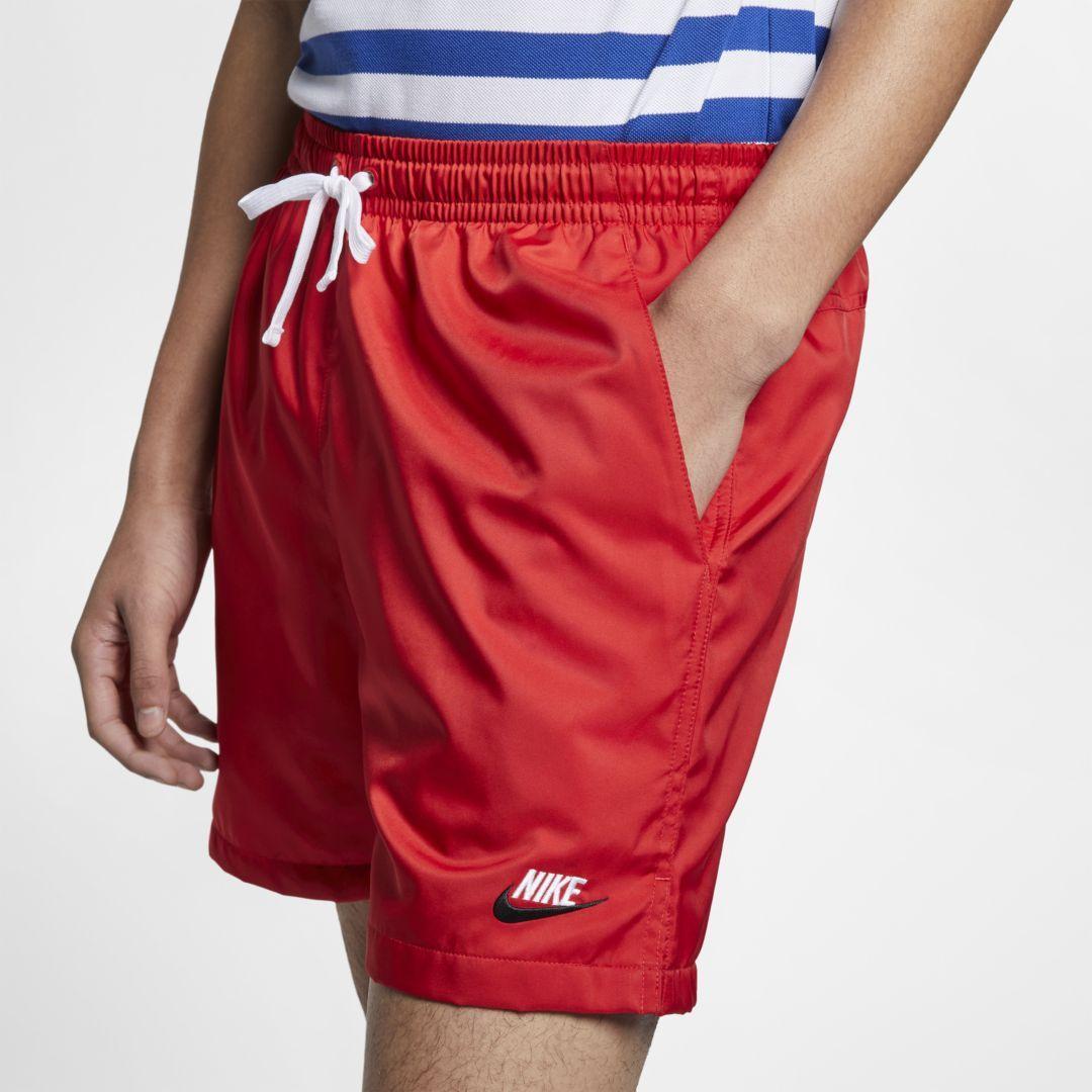 ccd56aea9e696 Nike Sportswear Men's Woven Shorts Size XL (University Red) in 2019 ...