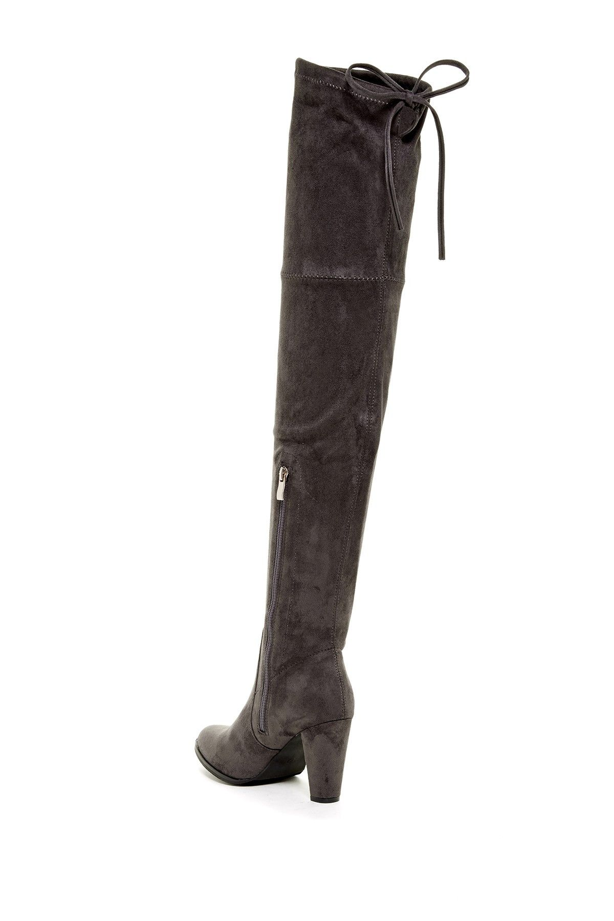 c67ecef28 Catherine Catherine Malandrino - Sorcha Faux Fur Footbed Over-The-Knee Boot  at Nordstrom Rack. Free Shipping on orders over $100.