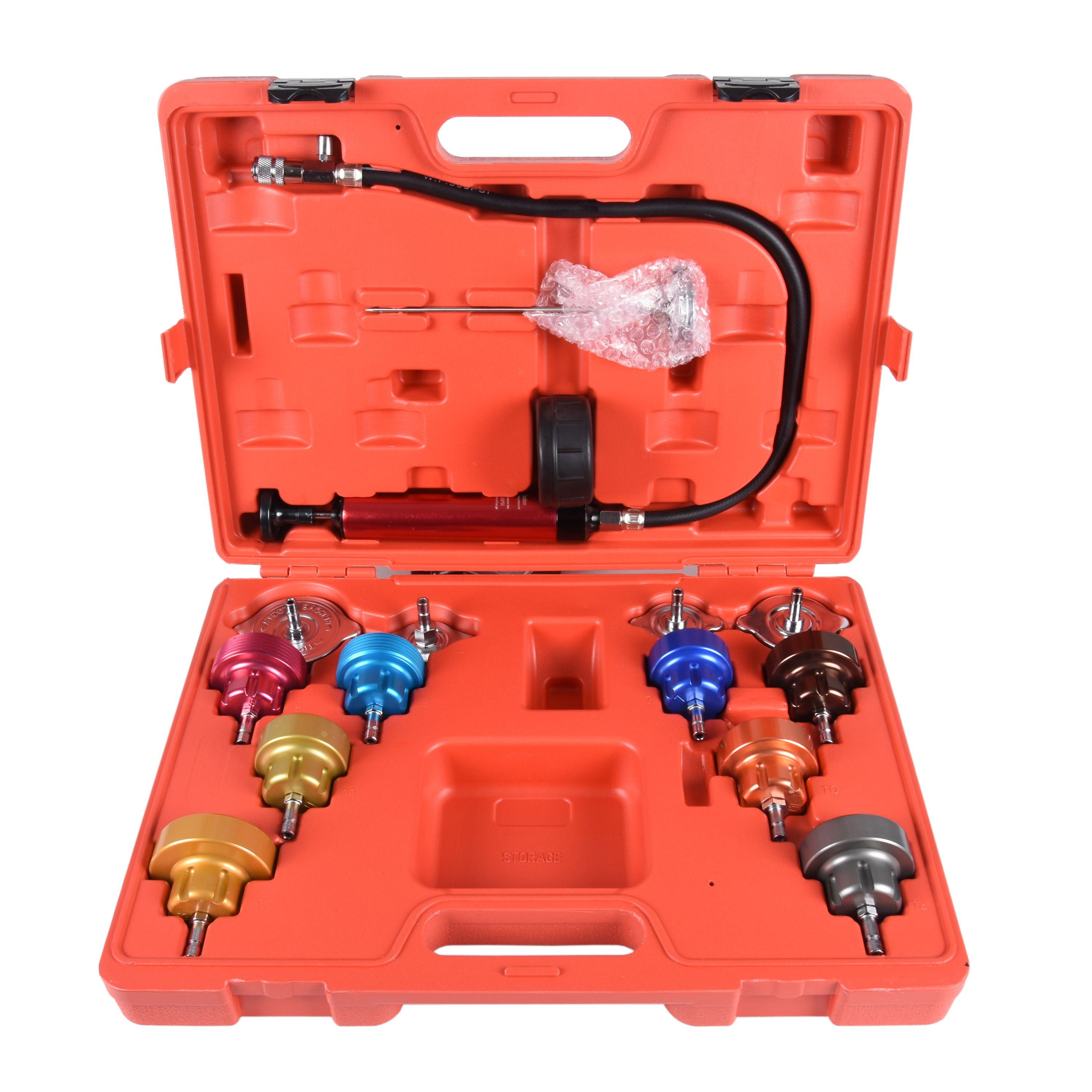 Cooling System Pressure Tester Adapter Kit My Rpt44 Cooling