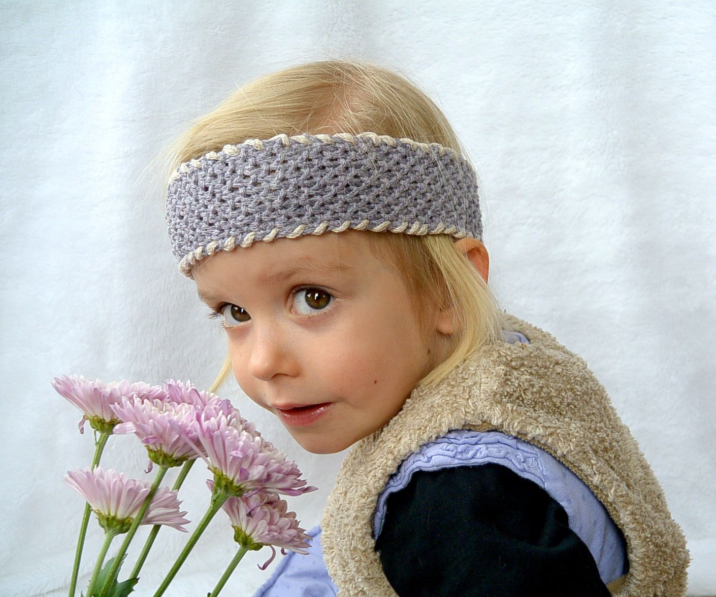 Easy seed stitch headband pre deti pinterest seed stitch and easy seed stitch headband bankloansurffo Images