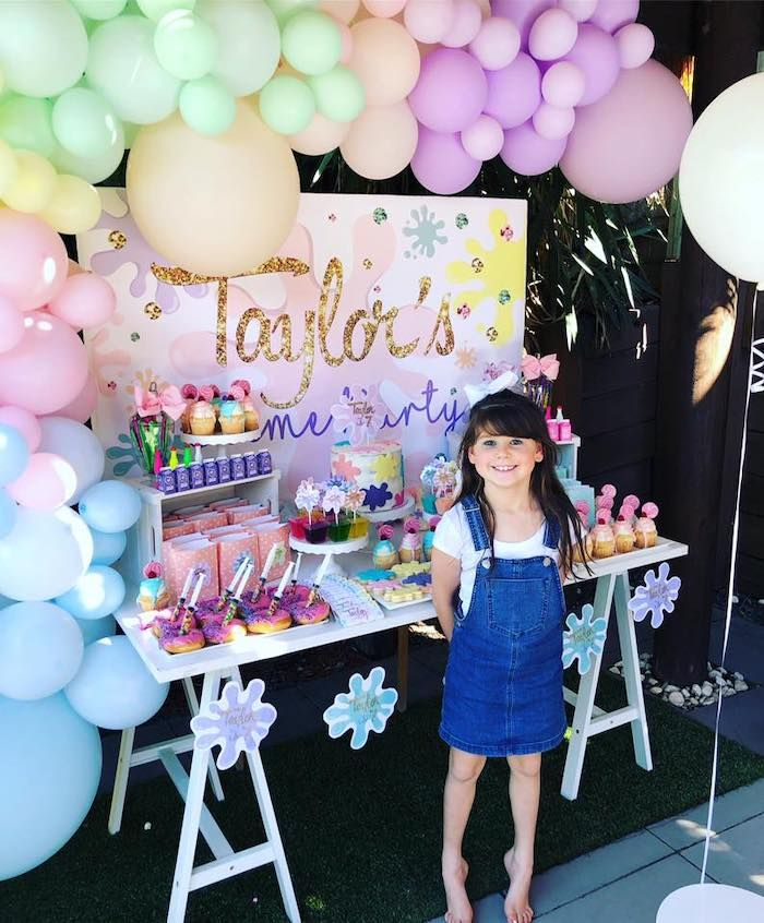 Girly Science Party