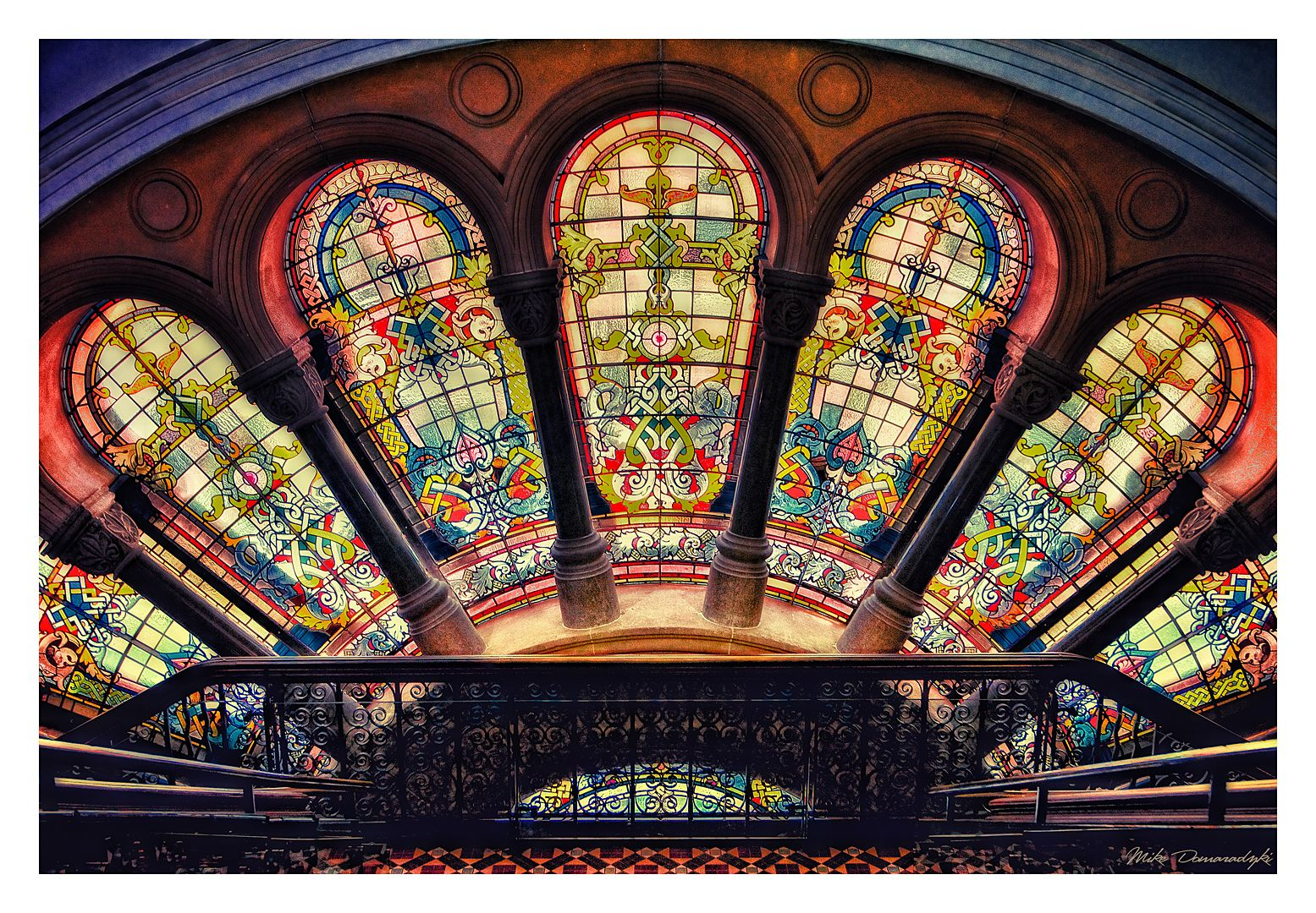 Inside the Queen Victoria Building VIII by mdomaradzki.deviantart.com