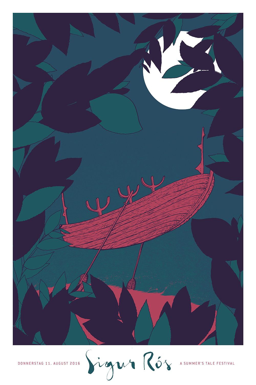 Alexander Hankes New Poster For Sigur Rs Is One Of My Favorites The Month Its A 16 X 235 Screenprint Has An Edition 100 And Costs EUR35 Visit