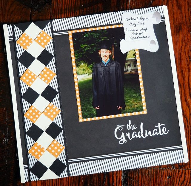 Personalizing Graduation Pages with School Colors