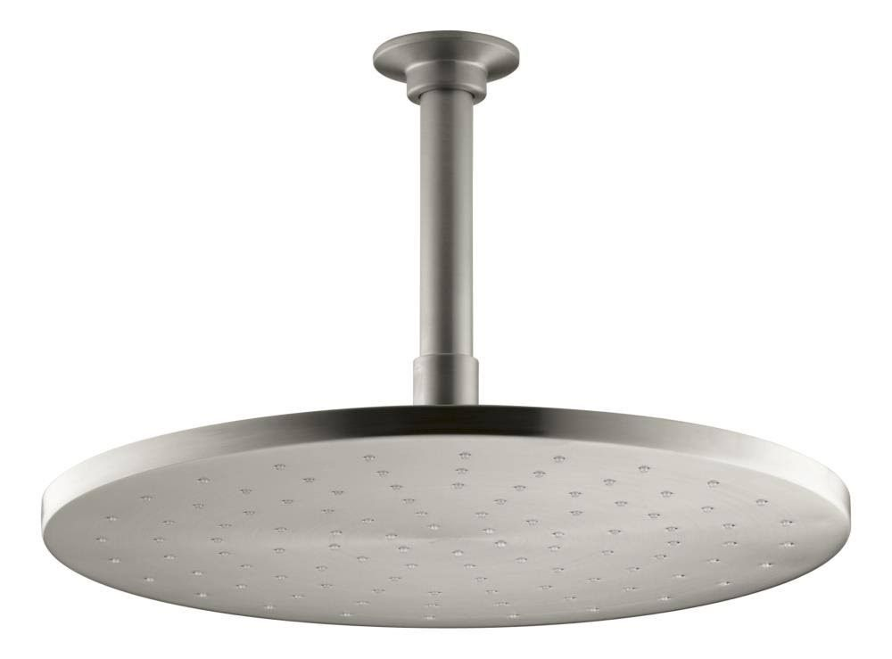 Kohler 12 Contemporary Round Rain Showerhead Vibrant Brushed