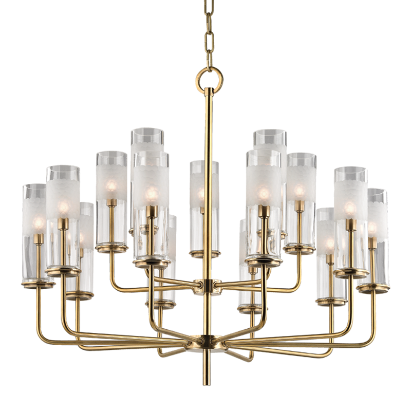 Wentworth 15 Light Chandelier By Hudson Valley Lighting Made To Order Designer Chandeliers From Dering Hall S Collection Of Contemporary