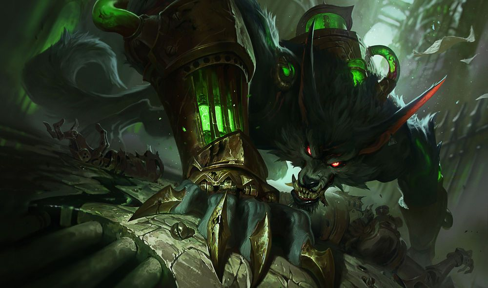 ↑ Warwick's profile page at Leagueoflegends.com