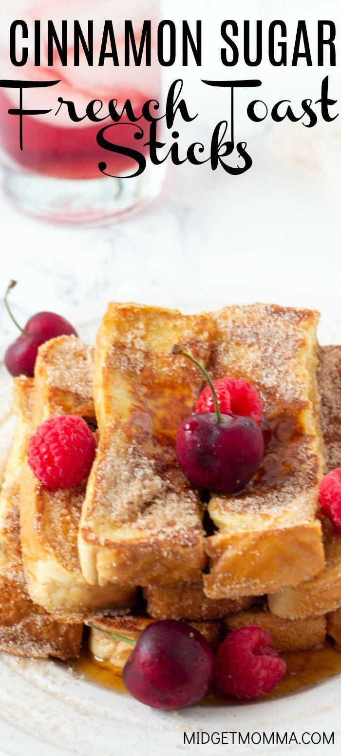 Homemade Cinnamon Sugar French Toast Sticks is one of my go to breakfast meals the kids love them a