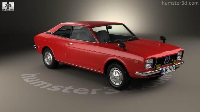 Subaru Leone Gsr 1972 3d Model Carro Do Avo Pinterest Model