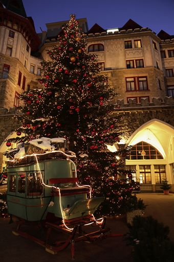 Badrutt S Palace Switzerland Christmas Holidays Around The World Places In Switzerland