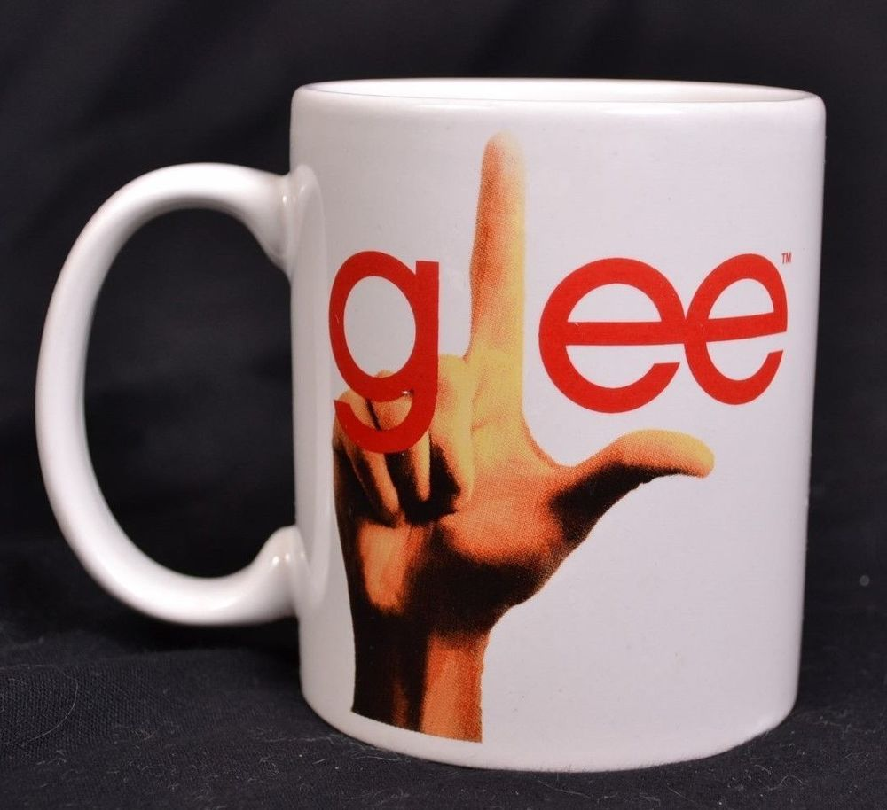 Glee I M A Gleek Mug Coffee Tea Fox Comedy Music Tv Show 2010 White Ceramic 8 Oz Comedy Music Mugs Music Tv