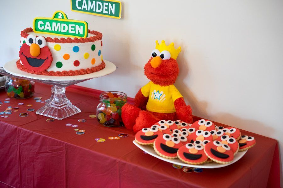 Elmo Birthday Party Table Ideas