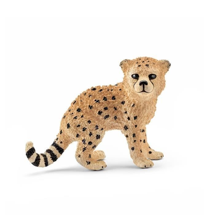 Schleich Figurine 14747 Animal De La Savane Bebe Guepard Bebes Guepards Animaux De La Savane Guepard