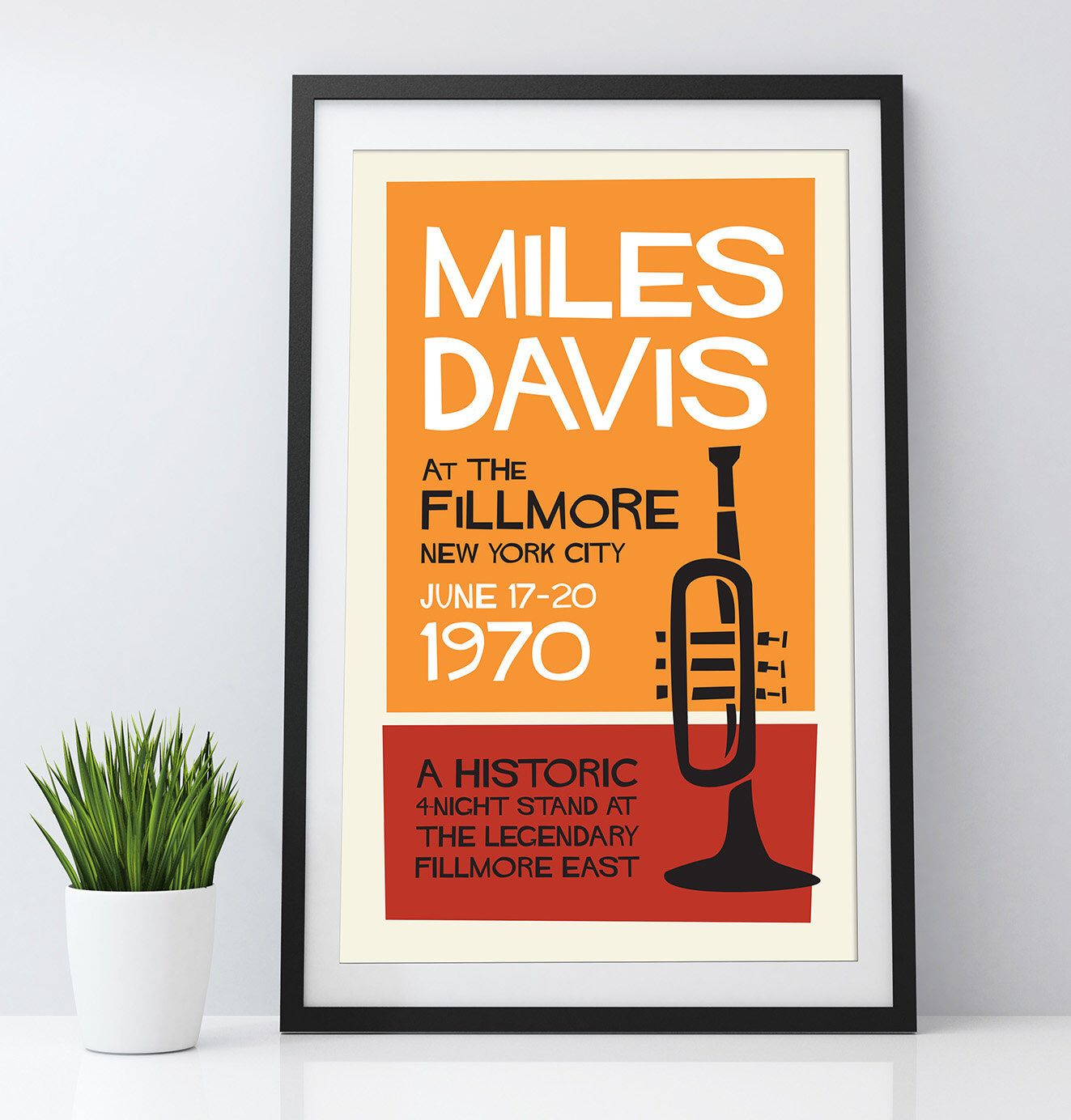 Digital Print Miles Davis 1970 Fillmore Jazz Gig Poster 11 X 17 And 24 X 36 Download Print Frame Yourself Wall Art Home Decor In 2020 Music Room Art Framed Prints Digital