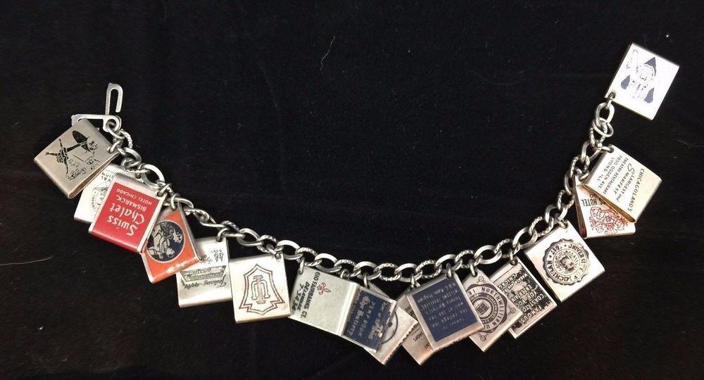 Details About Vintage Antique Sterling Silver Charm