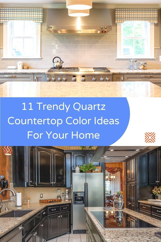 11 Most Popular And Stunning Quartz Countertop Colors In 2020 Countertop Colours Countertops Quartz Countertops