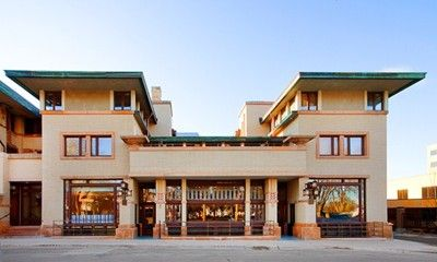 Historic Park Inn Hotel Designed By Frank Lloyd Wright In 1910 Mason City