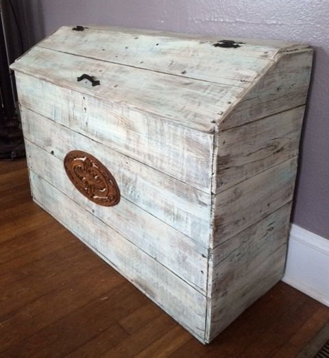 Storage Box Laundry Toy Hamper By Mtnmetalworks