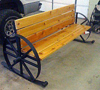garden seat on wheels. Rocking Wagon Wheel Bench Garden Seat On Wheels E