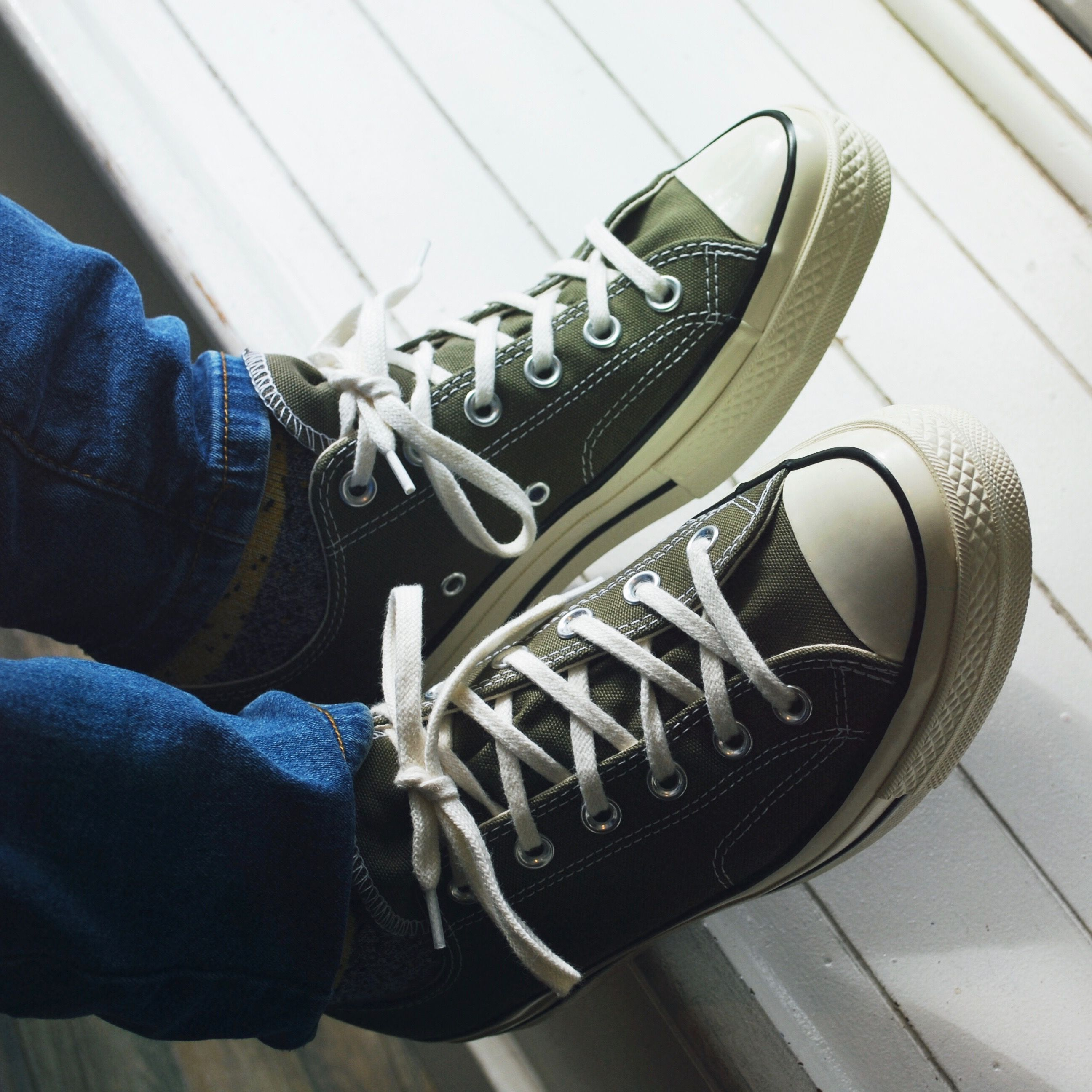 1681f0628 The Converse Chuck Taylor All Star 70 s Low-Tops in Field Surplus are a new  take on the classic