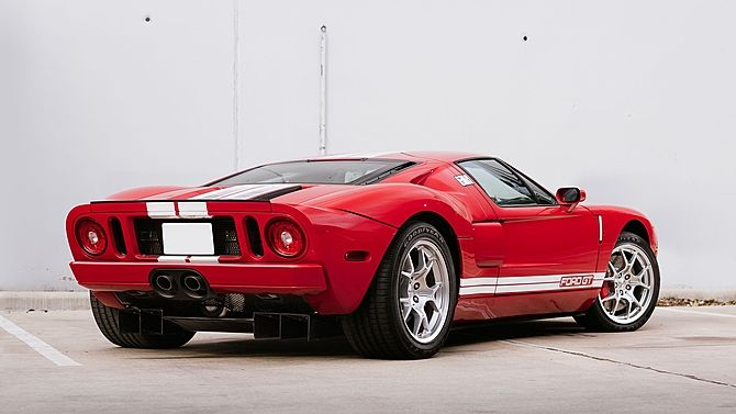 Ford Gt  Miles All Four Options Presented As Lot S At Kissimmee