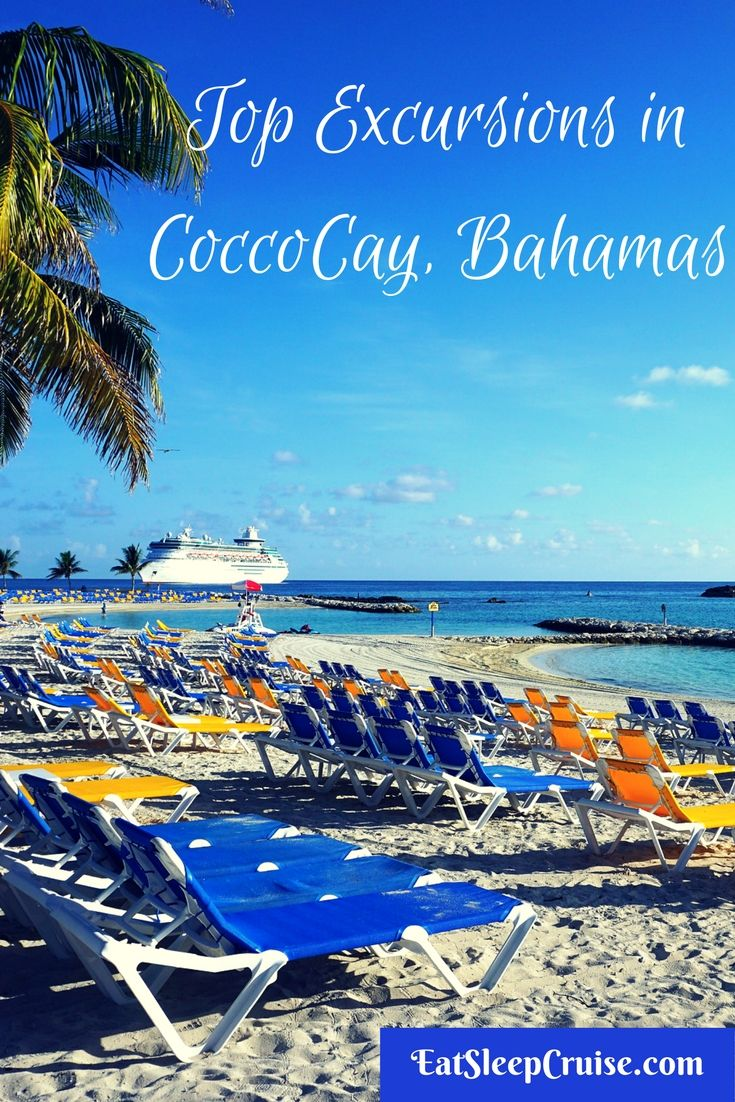 Top Ten CocoCay Excursions | Bahamas vacation, Bahamas ...