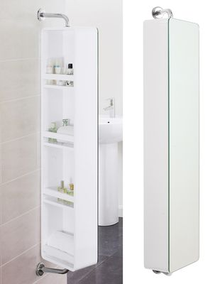 Dwell Rotating Mirrored Cabinet Bathroom Mirror Cabinet