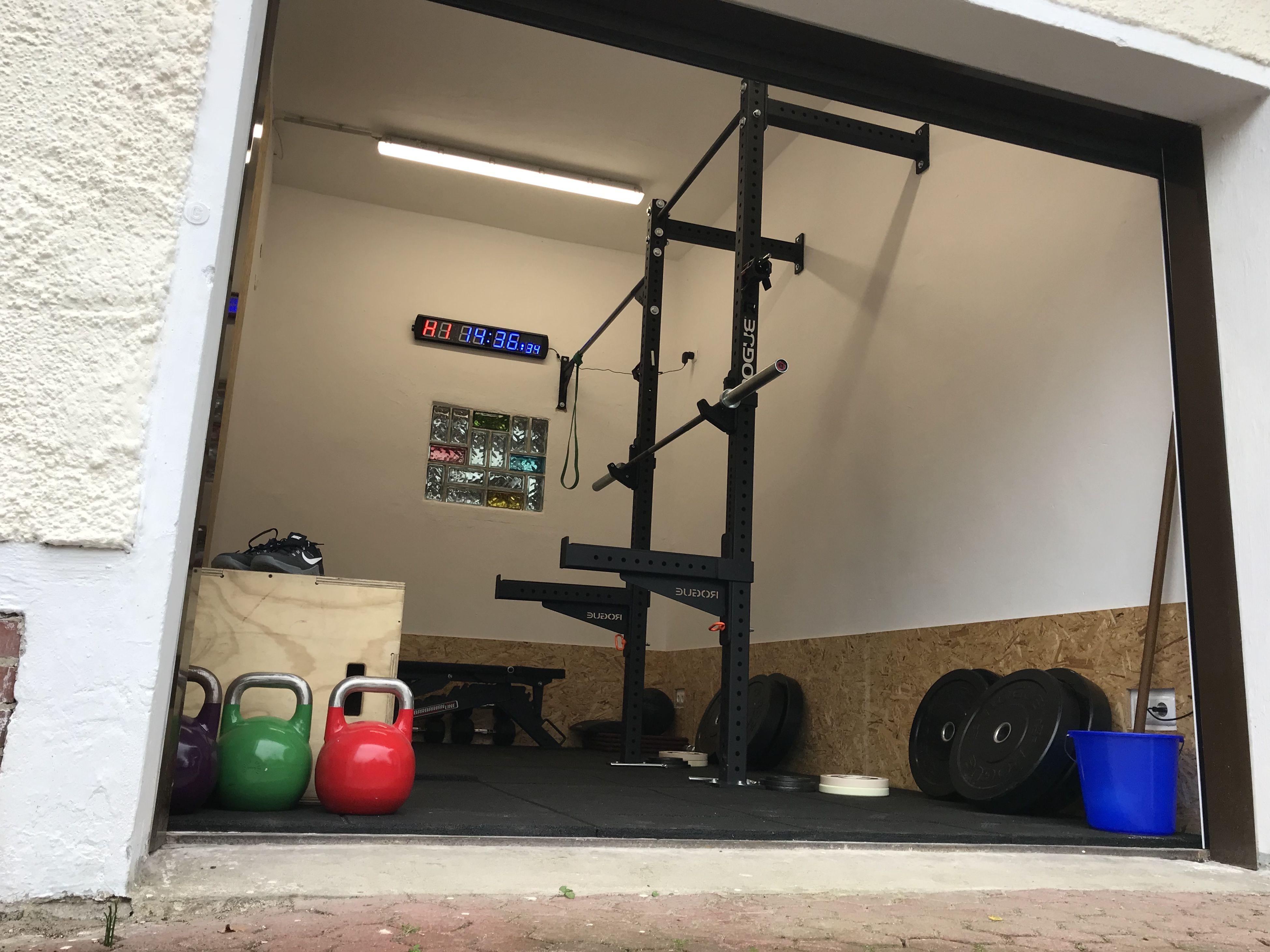 Homegym Garagegym Rogue Monster Lite Wallmount 30 Crossmember Spealbar Space 14m Home Gym Garage Garage Gym Home Gym