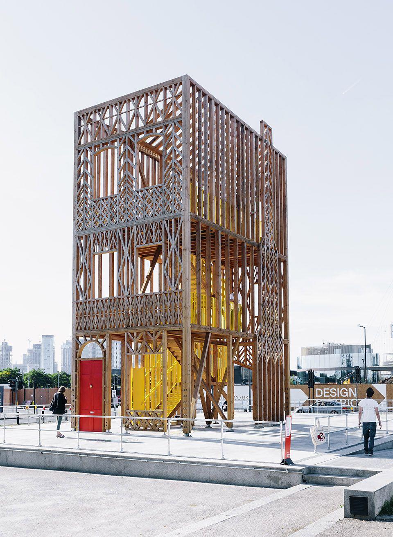 Design 33 Pavilion By Studio Weave Studio Weave Pavilion Architecture